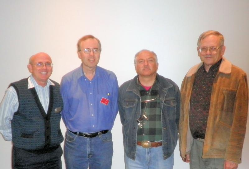 Left to right Board Joe Payne, Tom Reily, Marcus Lieberman, Richard Parsons